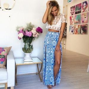 ISO Sabo Skirt Honolulu Skirt XS